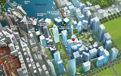 Marina One – Epicentre of Singapore's new Central Business District.