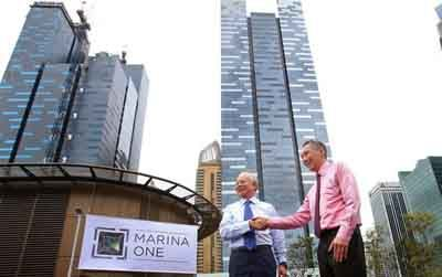 An award winning masterpiece - Marina One Residences